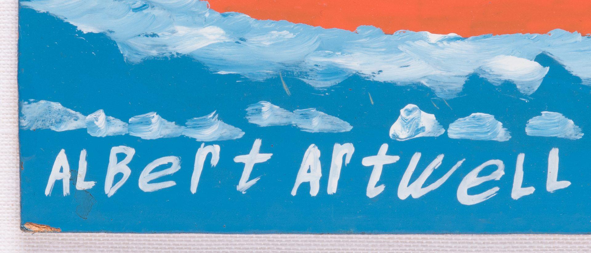 Lot 87: Albert Artwell O/B plus Folk Cane