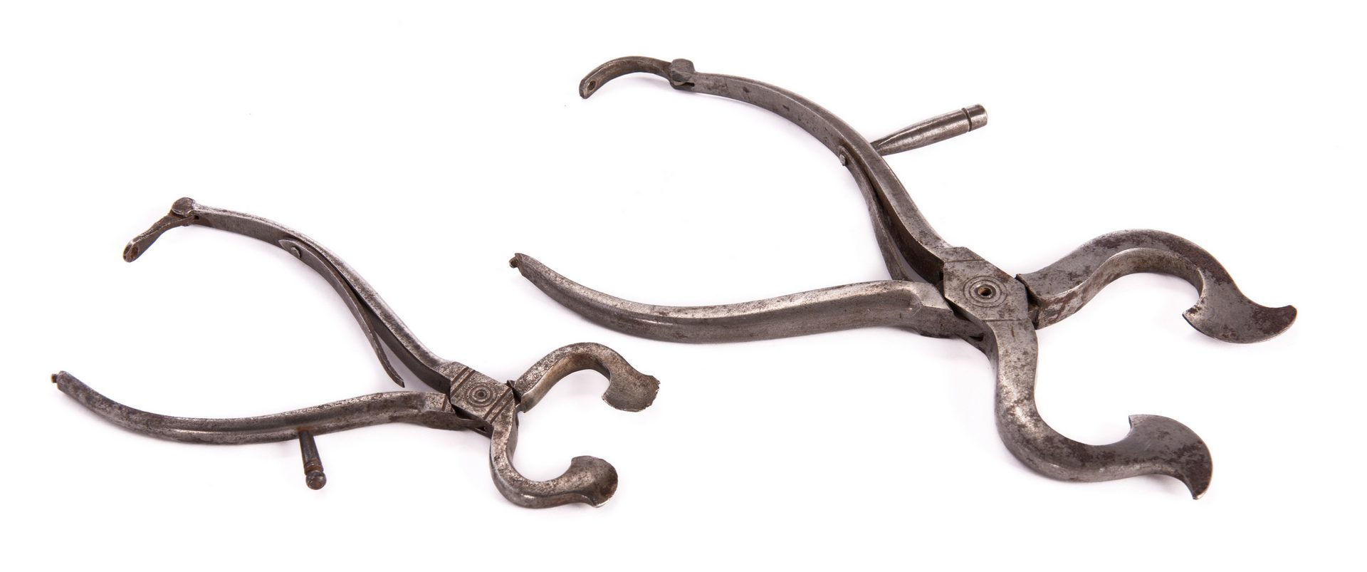 Lot 92: 2 Hand-Wrought Iron Sugar Nippers