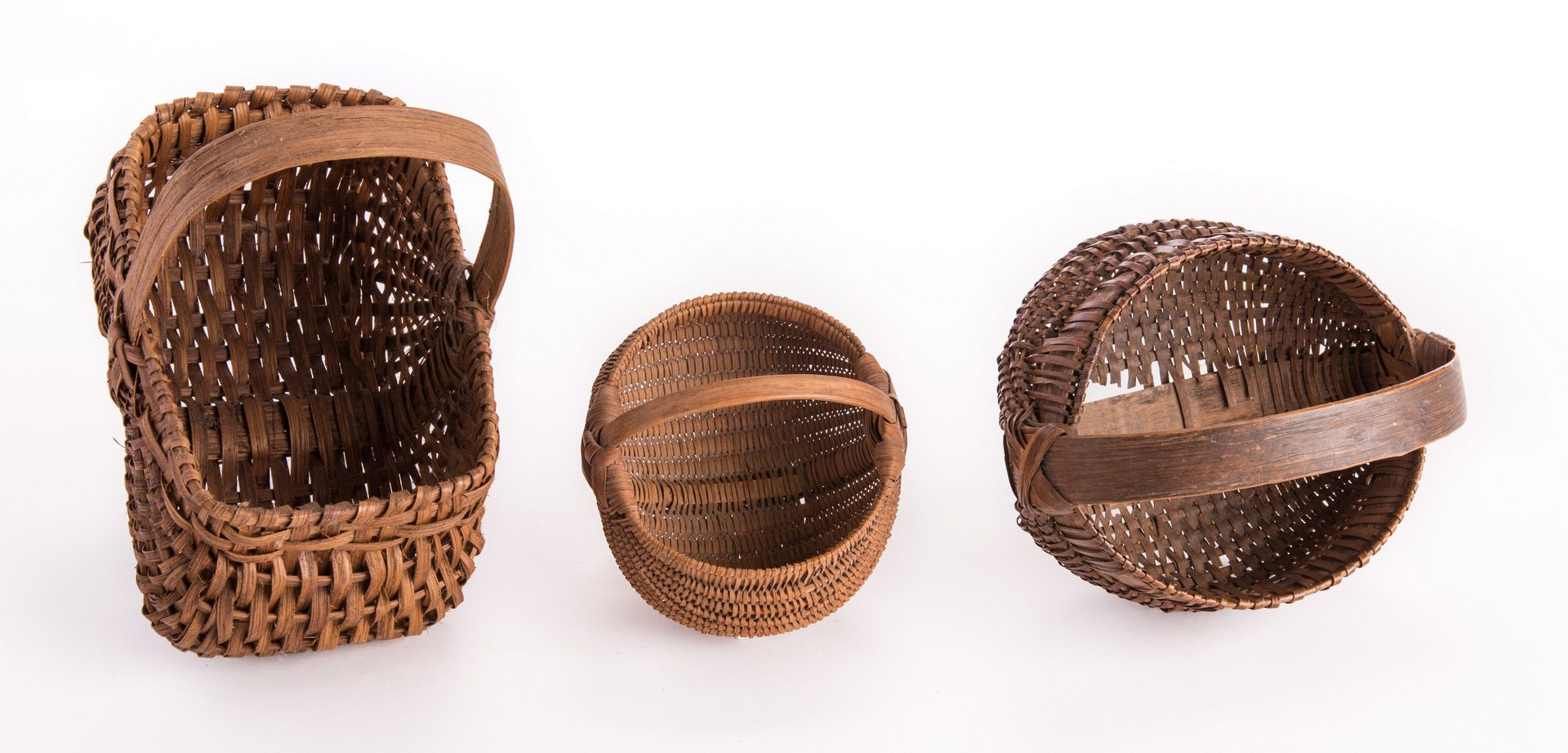 Lot 94: 5 Early Southern Baskets