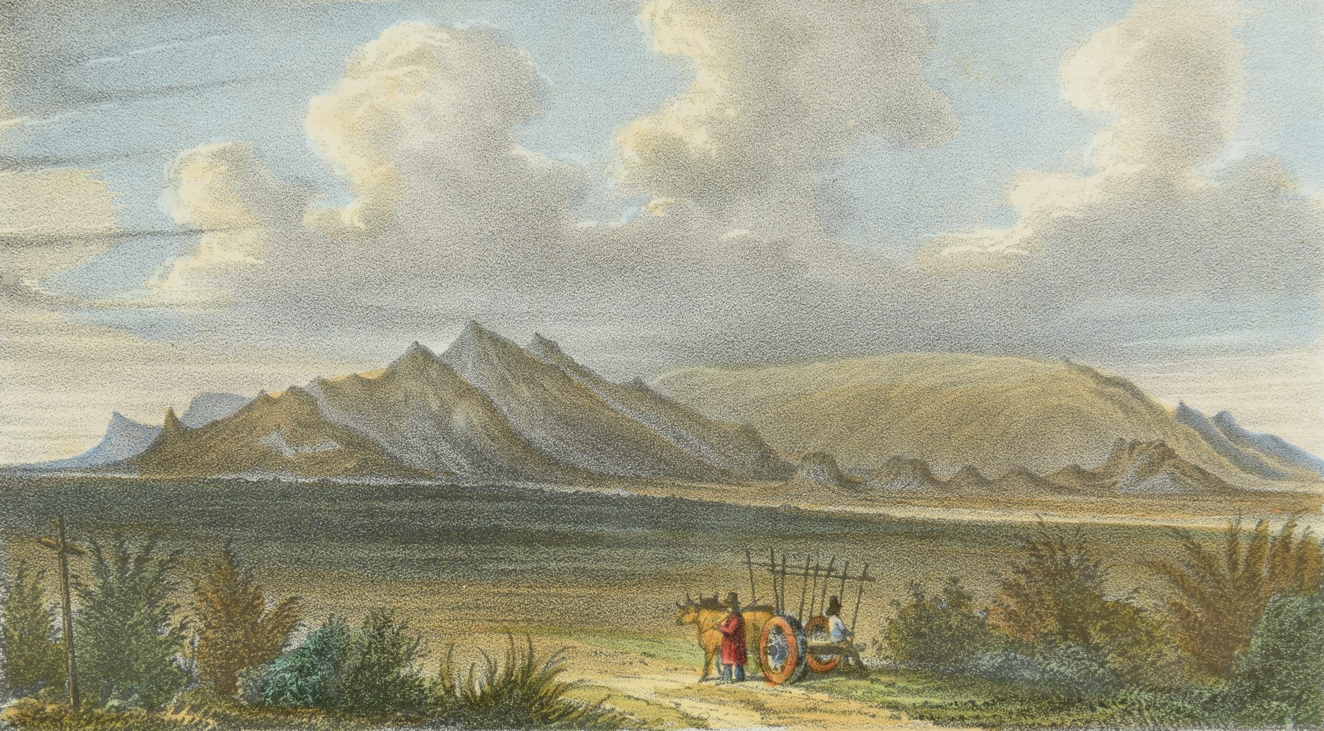 Lot 97: 2 19th Cent. Western Lithographs