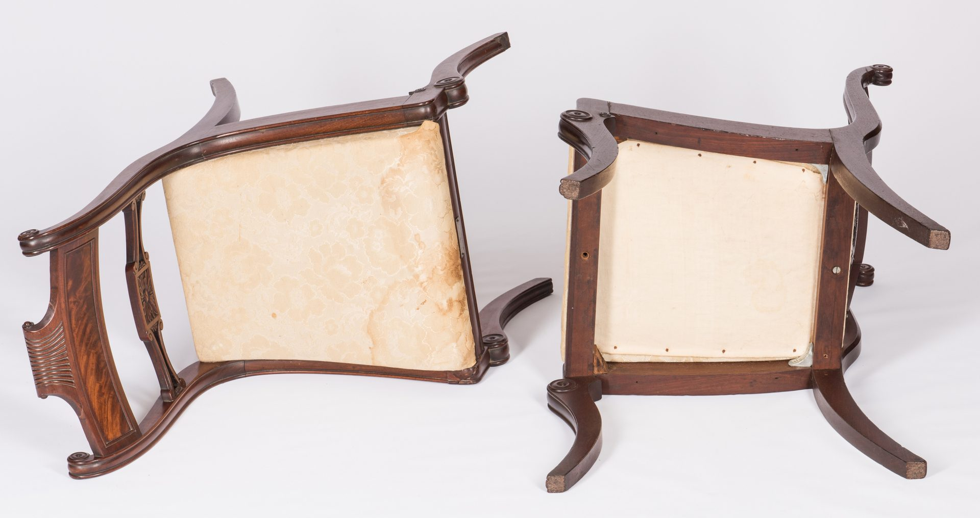 Lot 111: 2 Federal Chairs, Gen. Coffee Provenance