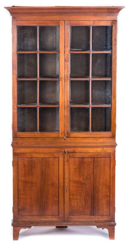 Lot 119: East Tennessee Corner Cupboard, 1820