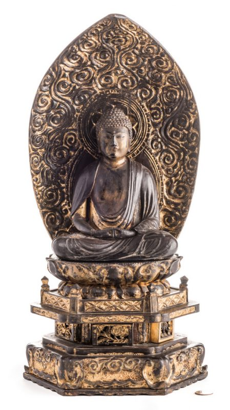 Lot 11: Japanese Zushi Buddha Altar Shrine