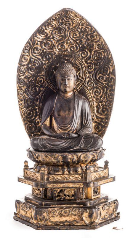 Lot 11: Japanese Zushi Buddha Altar Shrine