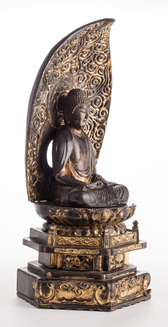 Lot 11 Japanese Zushi Buddha Altar Shrine