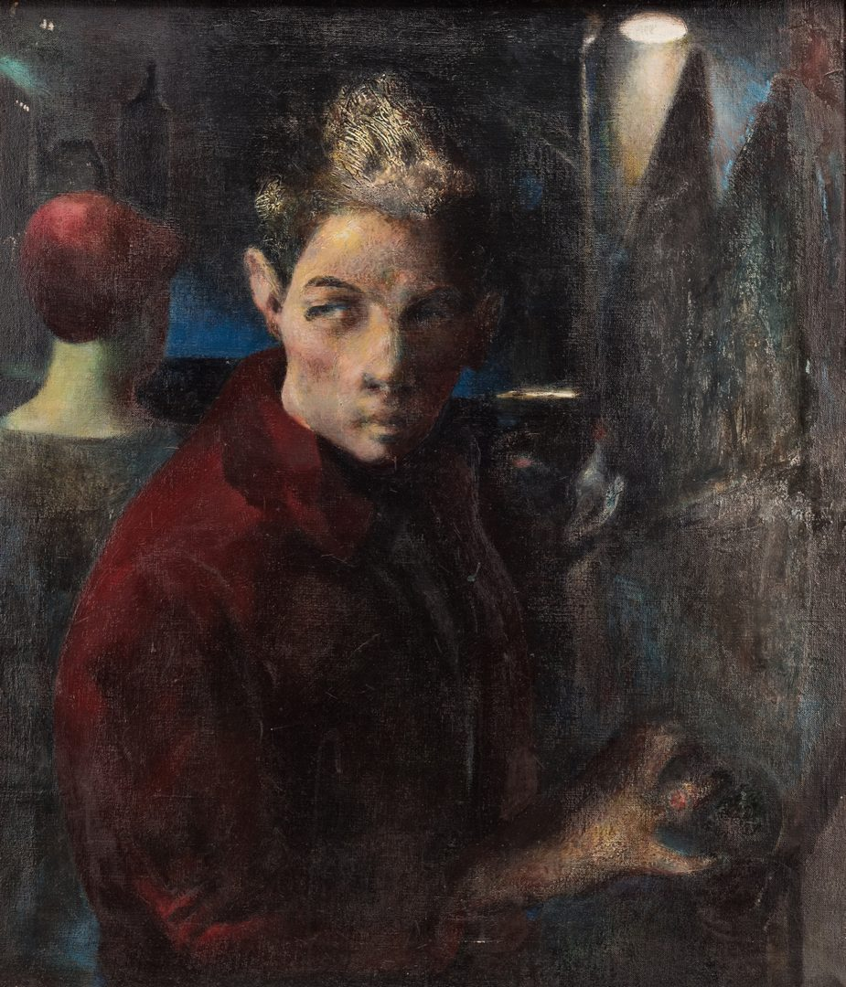 Lot 126: Avery Handly, Self Portrait