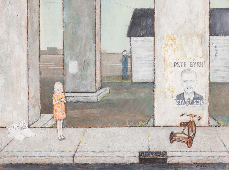 Lot 134: Bill Sawyer, O/B, Young Girl