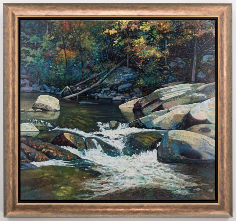 Lot 137: Edward Kellogg, O/C, Falls on Stream