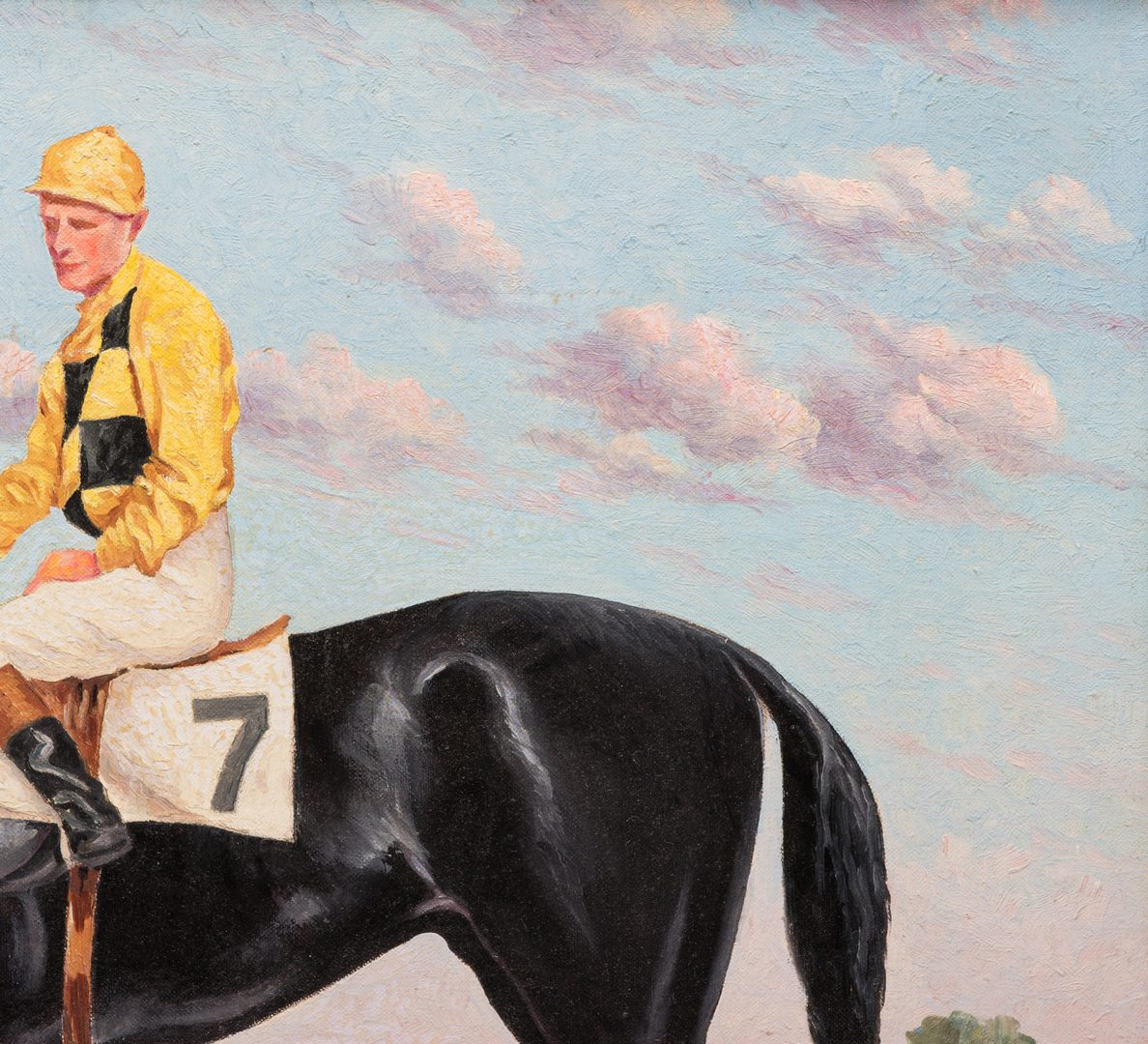 Lot 151: Jack L. Gallagher, O/B, Wise Prince