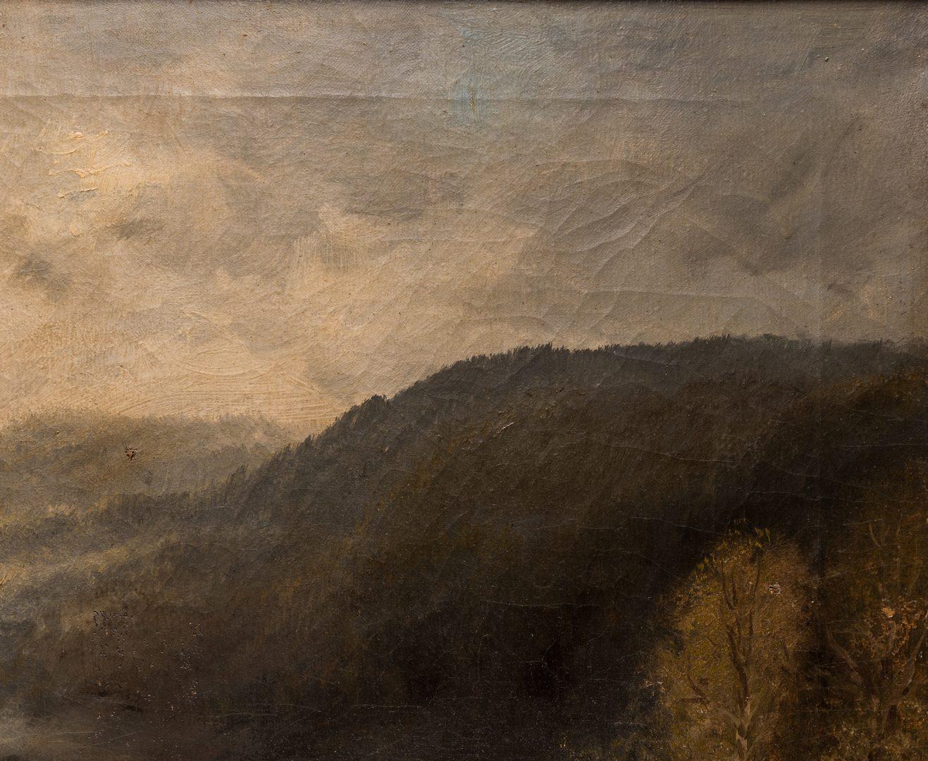 Lot 158: Ludwig Hans Fischer, O/C, Austrian Landscape