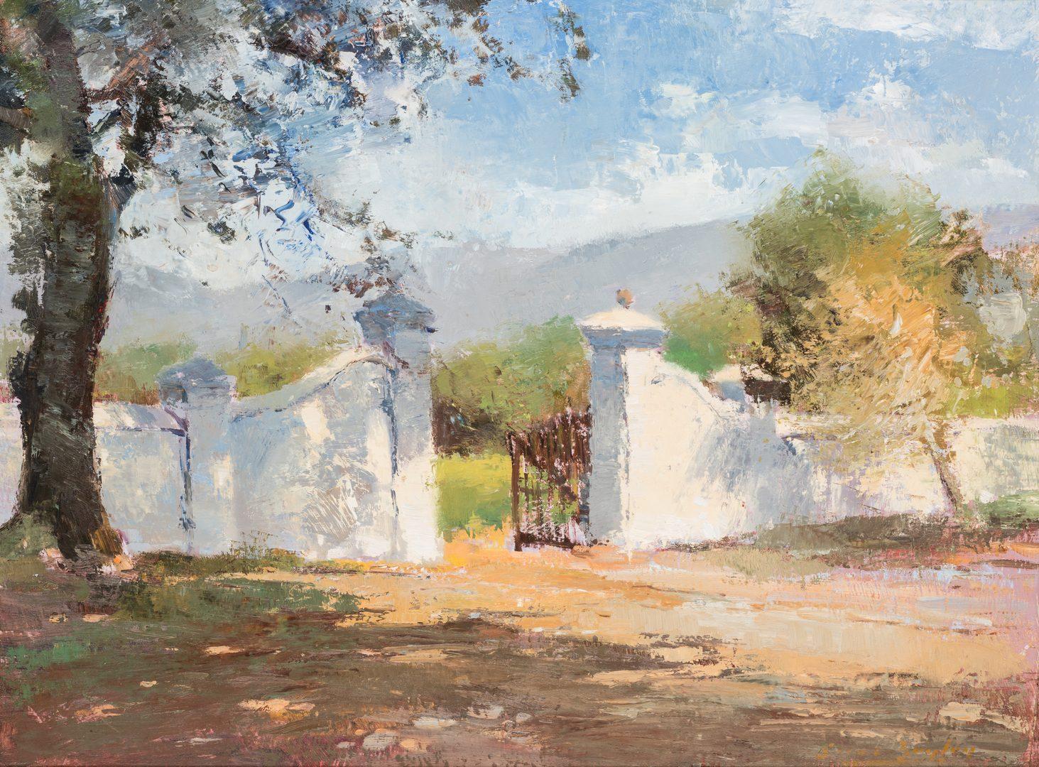 Lot 159: Errol Boyley South African oil landscape