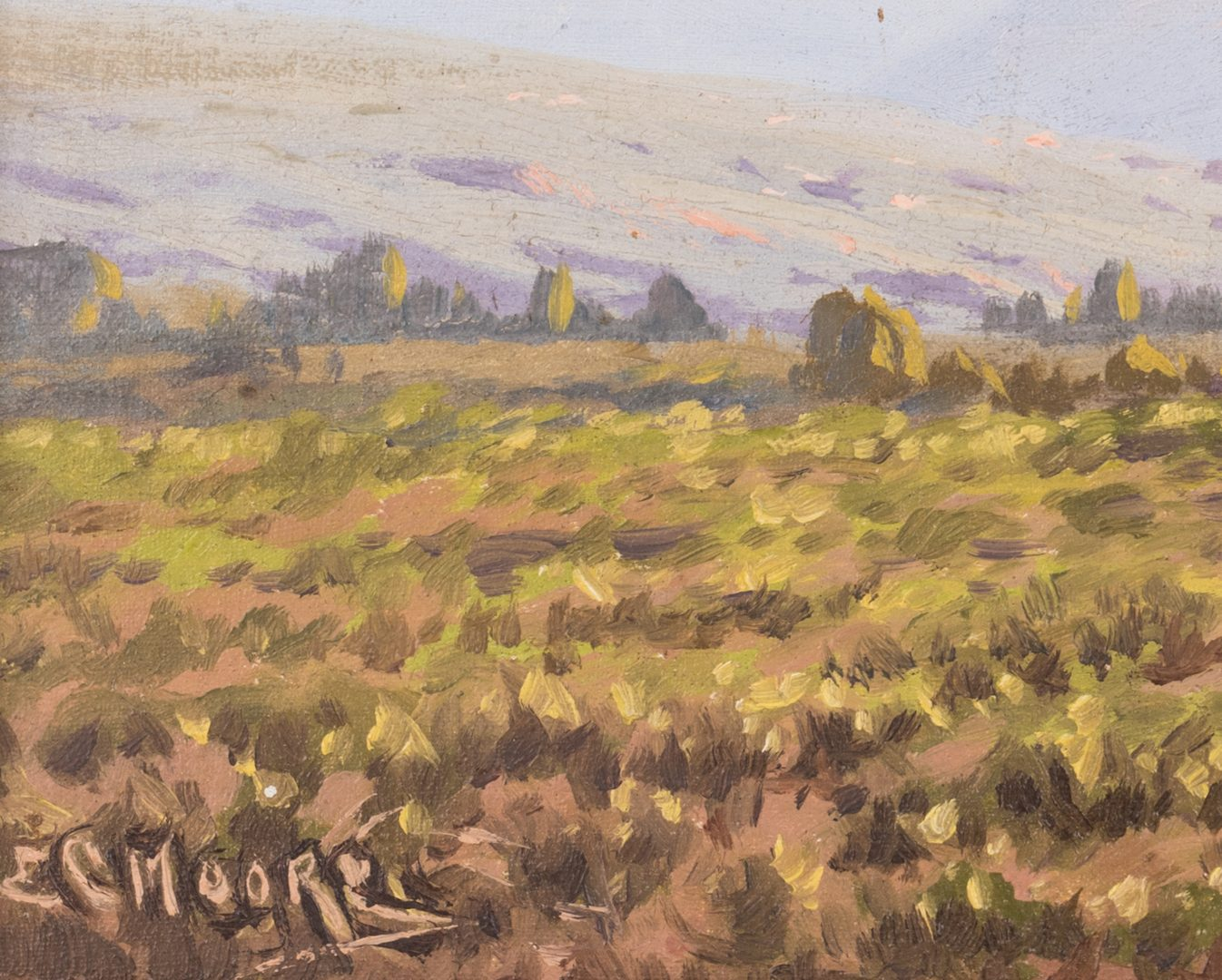 Lot 161: Edward Moore, O/B, South African Wine Farm