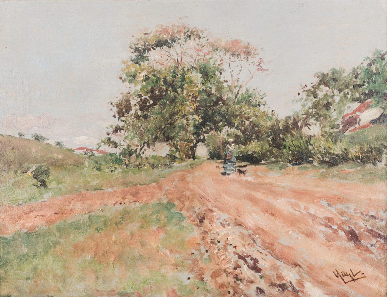 Lot 172: Gilbert Gaul O/B, Nashville Landscape