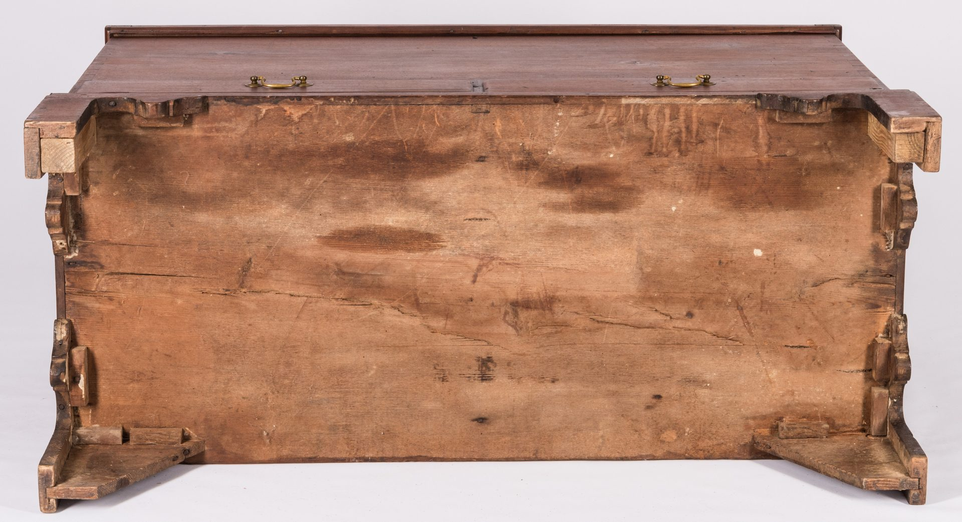 Lot 179: North Carolina Chippendale Dower Chest