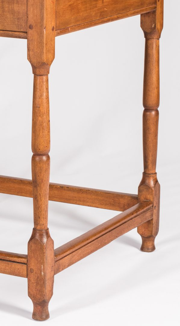 Lot 180: Southern Stretcher Table, attr. NC