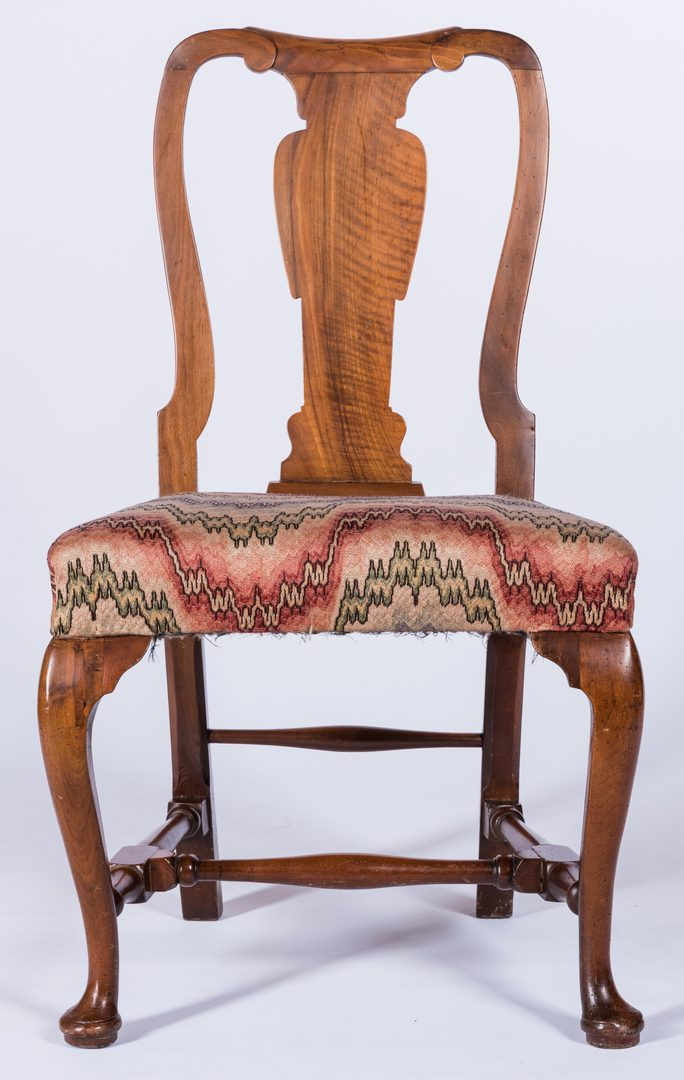 Lot 181: Queen Anne Chair, possibly Southern