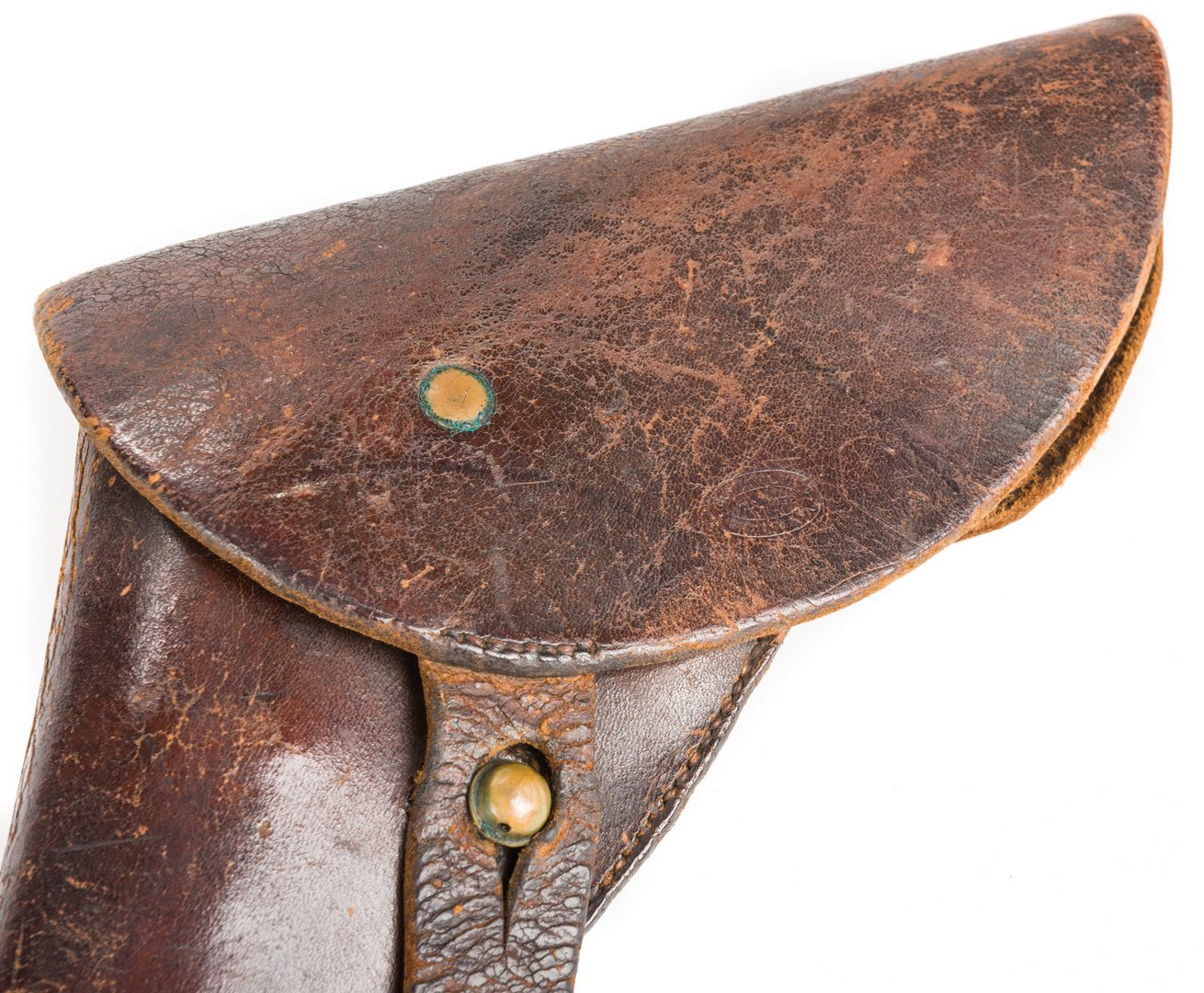 Lot 214: Confederate Naval Revolver Holster