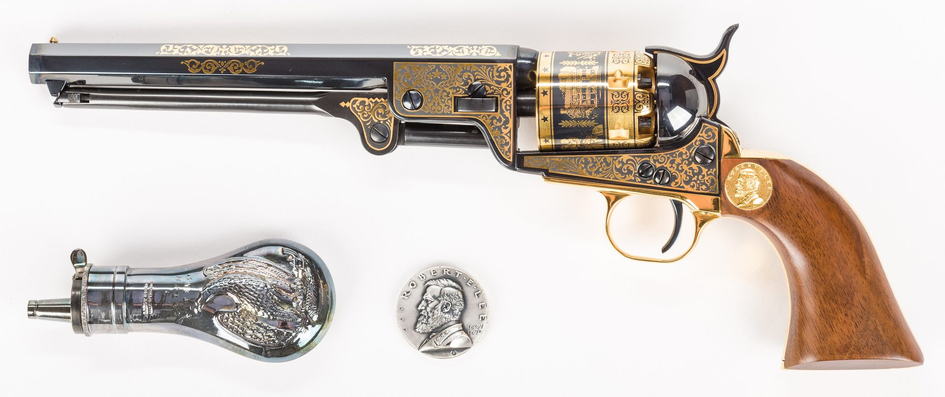 Lot 223: Robert E. Lee Commemorative Pistol, U.S. Historical Society