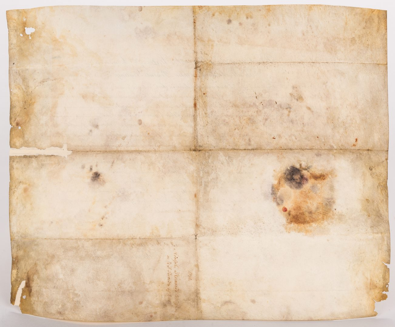 Lot 231: President Polk and Buchanan Signed Document, 1848