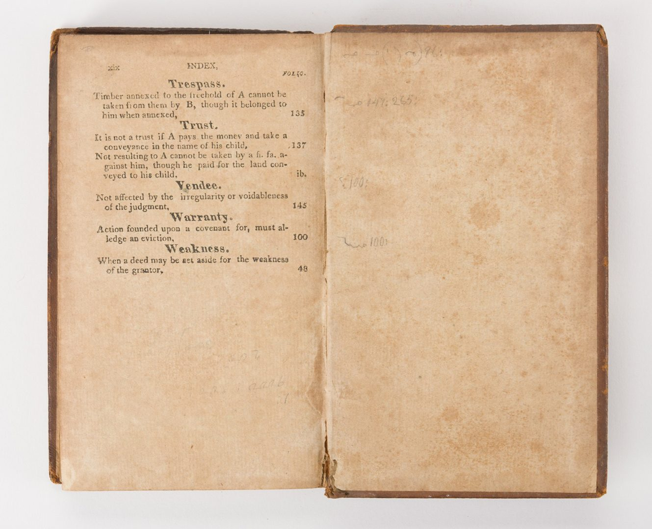Lot 241: Reports of Cases, State of TN, Haywood, 1818
