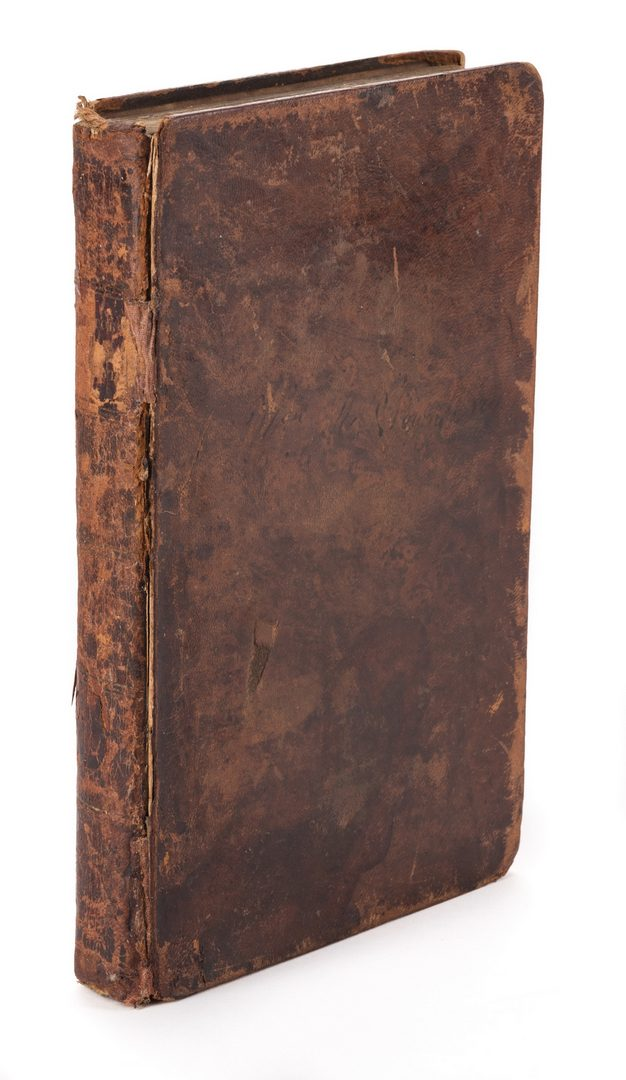 Lot 242: Sketches of the History of Literature, Tannehill, 1827