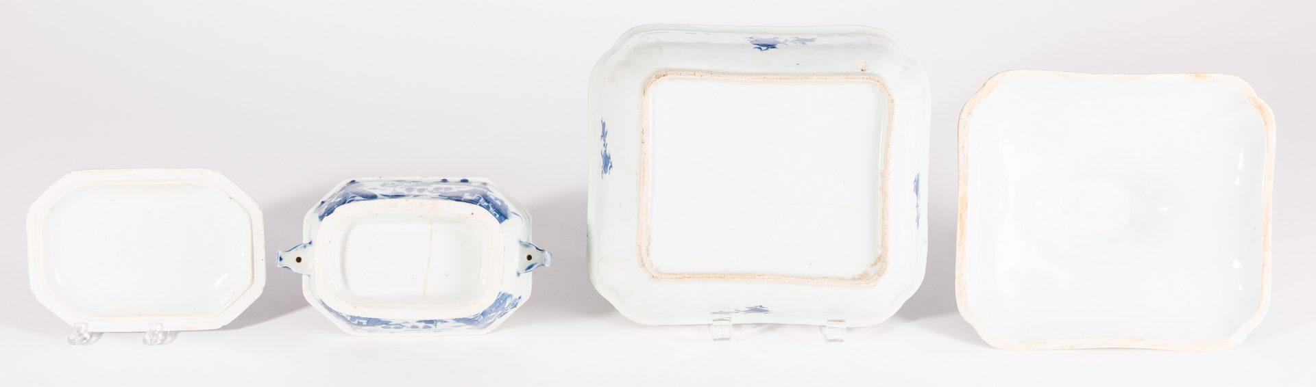 Lot 24: Canton Porcelain, 6 pcs inc. Candlesticks