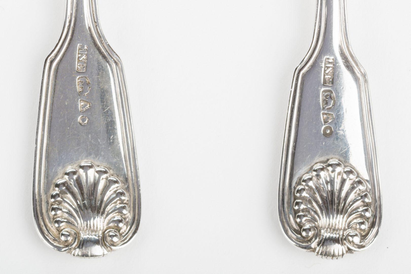 Lot 259: Asian Export Silver Flatware, 8 pcs