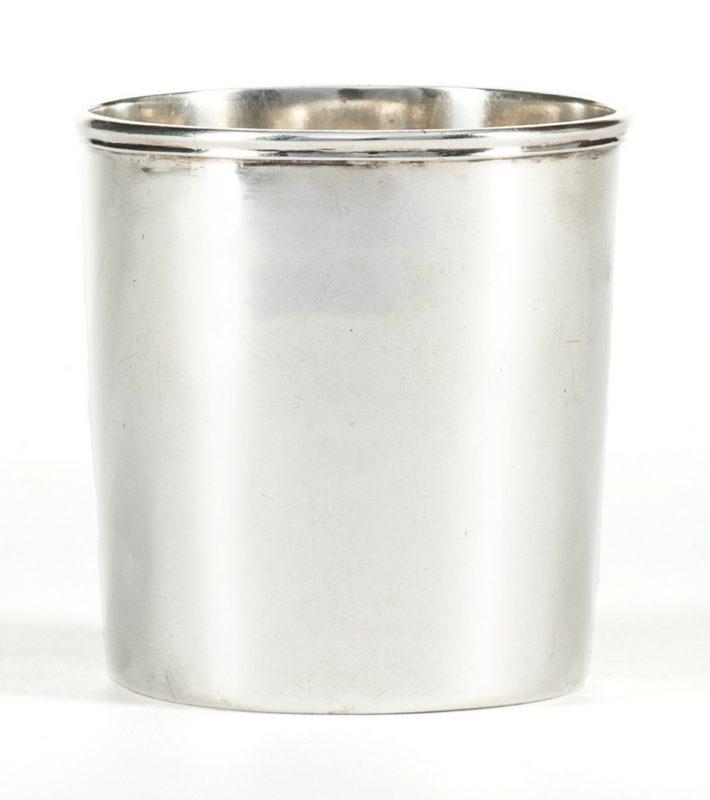 Lot 272: Lexington, KY Coin Silver Julep, Garner