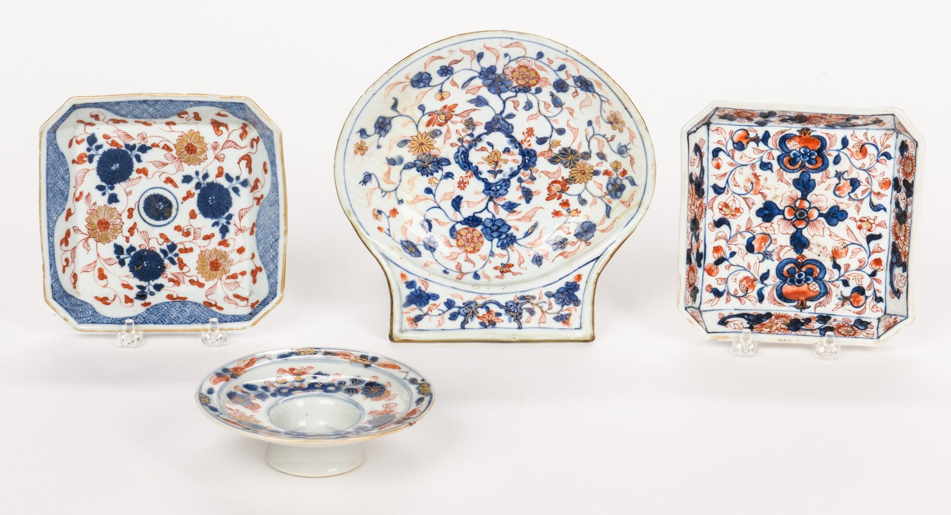 Lot 316: 4 Shallow Chinese Imari Dishes