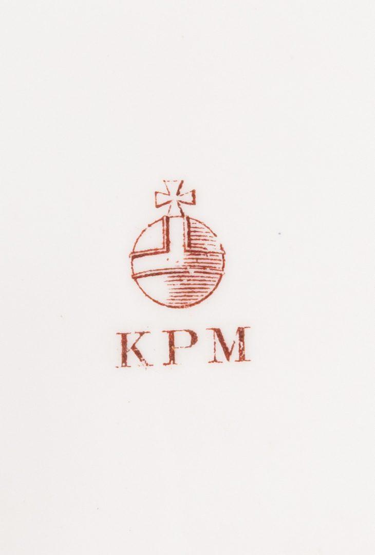 Lot 329: KPM Porcelain Basket