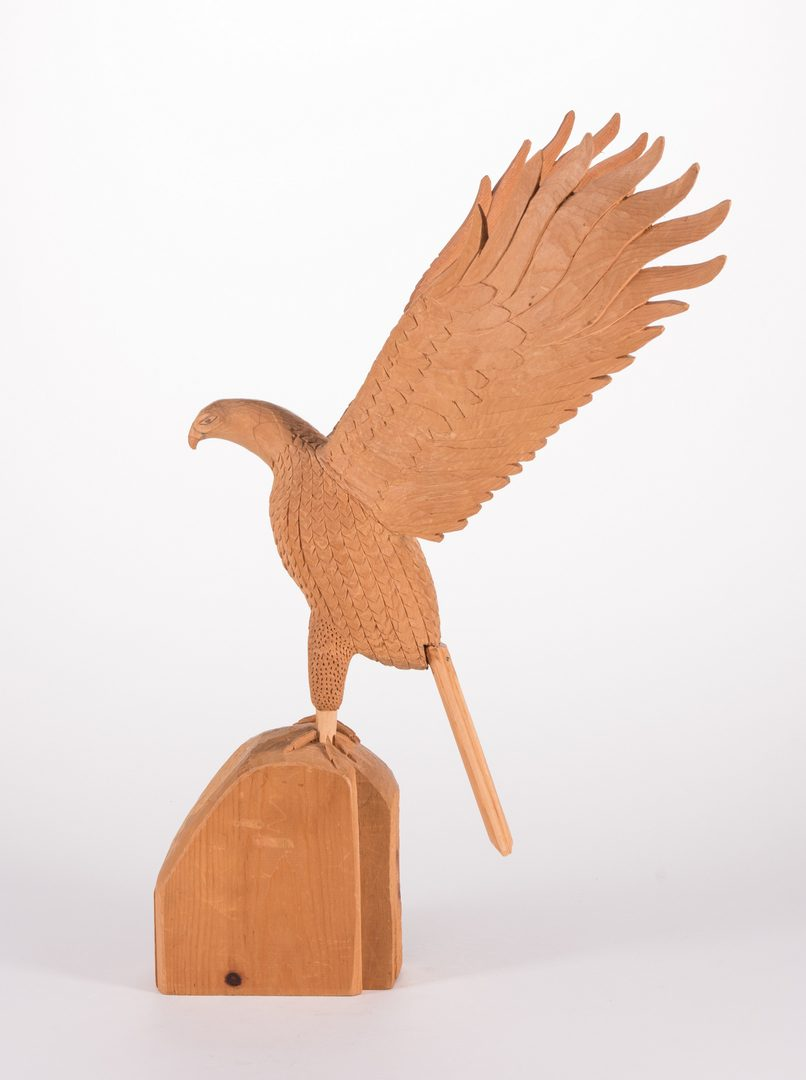 Lot 344: Sulton Rogers Carving, Eagle