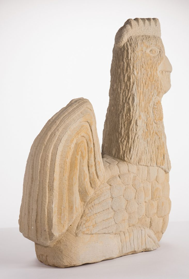 Lot 348: Tim Lewis Rooster Sculpture