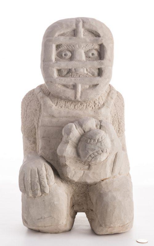 Lot 349: Tim Lewis Sculpture, Catcher