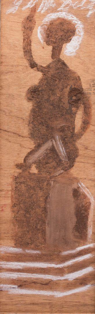 Lot 352: 2 Jimmy Lee Sudduth Folk Art Paintings