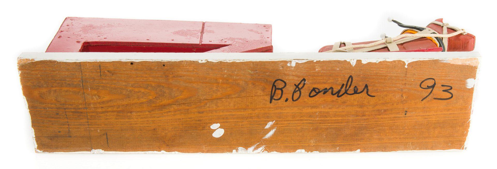 Lot 358: 6 Braxton Ponder Carvings