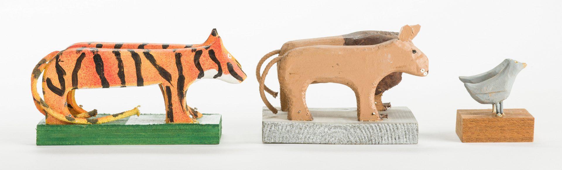 Lot 359: Braxton Ponder Carvings, Noah's Ark