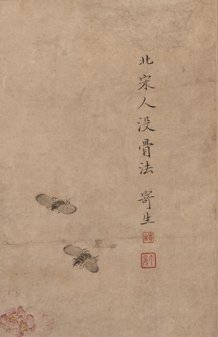 Lot 35 Ding Yan Mogu Painting After Ji Sheng
