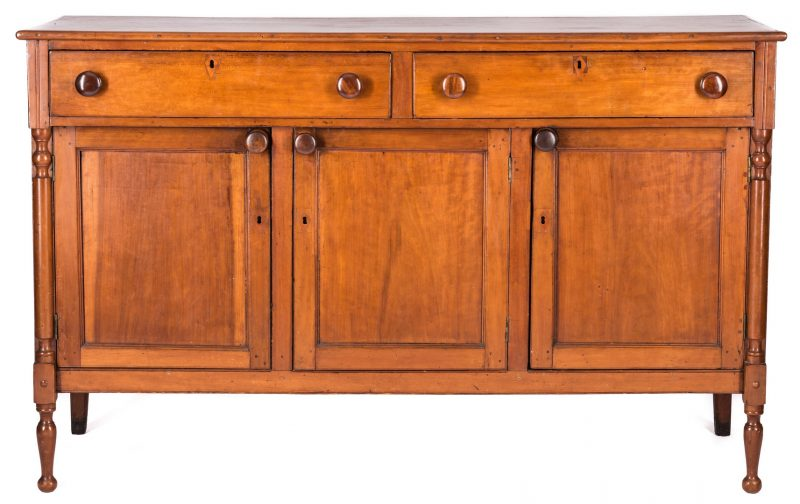 Lot 369: Southern Cherry Sideboard, attrib. Virginia