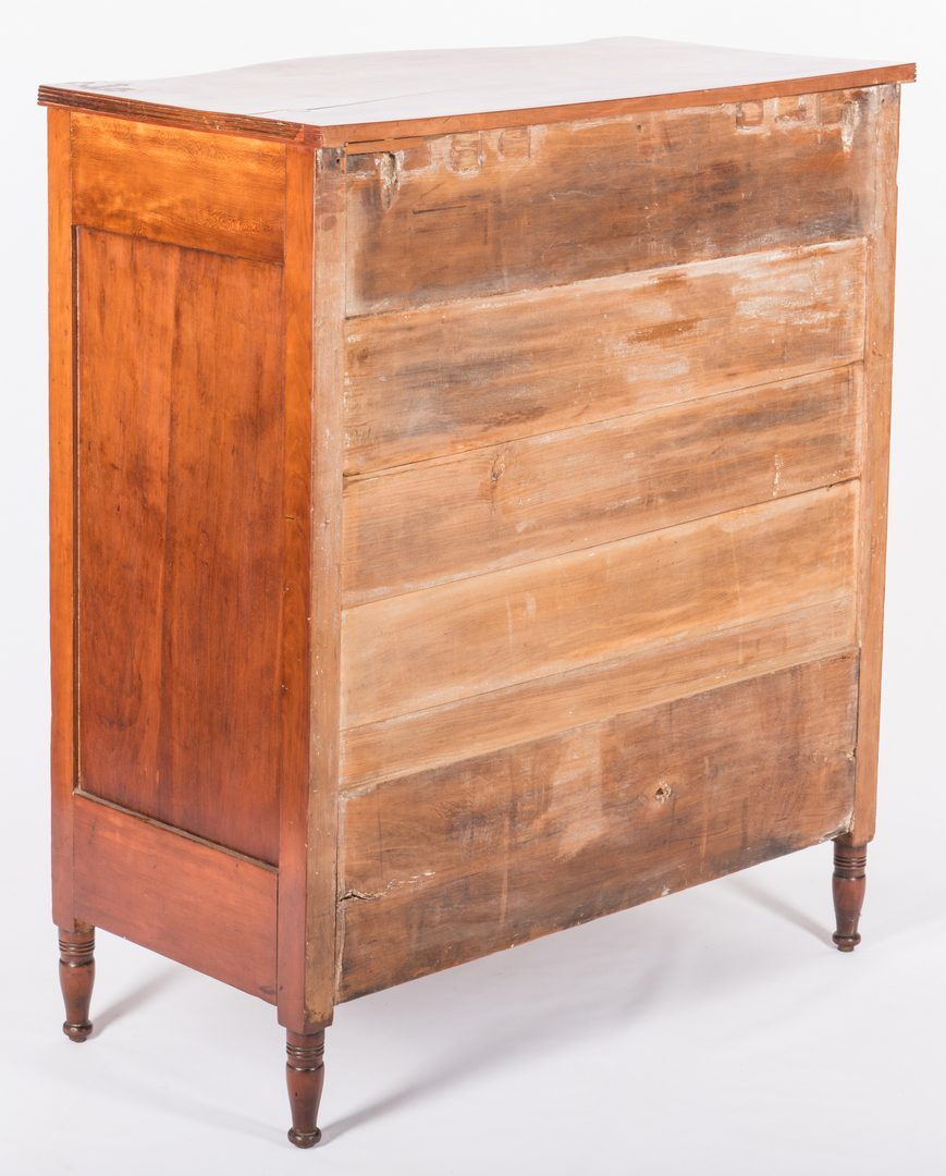 Lot 370: KY Federal Serpentine Chest, pos. Wilson