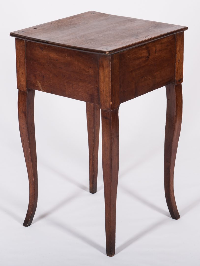 Lot 372: Mississippi River Valley Cherry Table