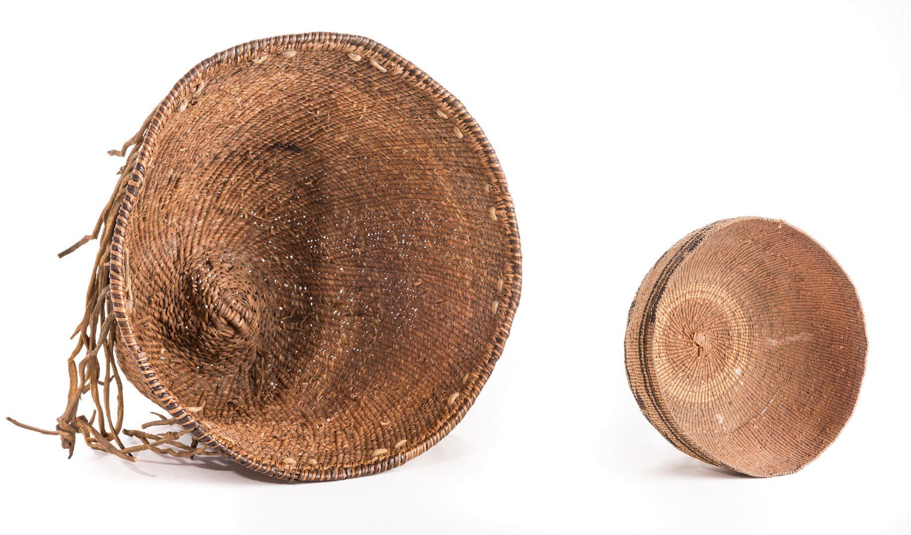 Lot 387: 3 Native American Baskets, inc. Havasupai