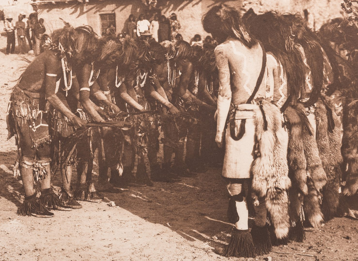 Lot 400: Edward S. Curtis, Antelope and Snakes at Oraibi