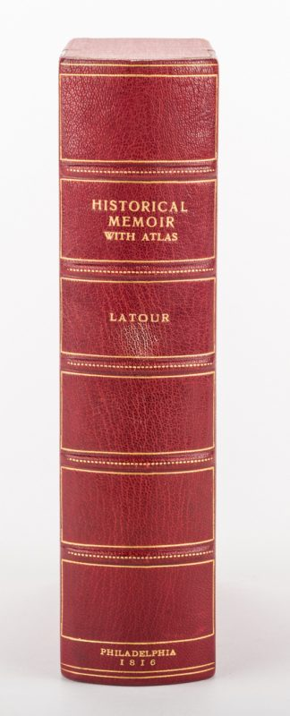 Lot 422: Latour War in West Florida LA 1814-1815, w/ Atlas