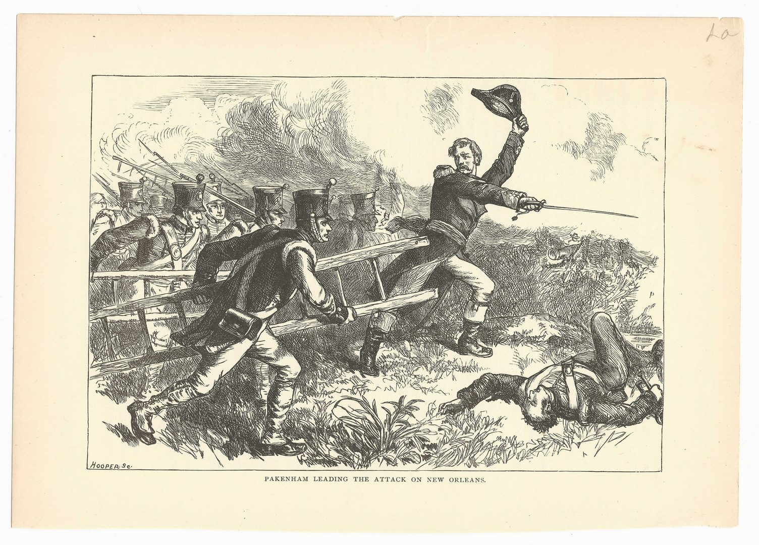 Lot 426: Battle of New Orleans Print Archive, 20 items