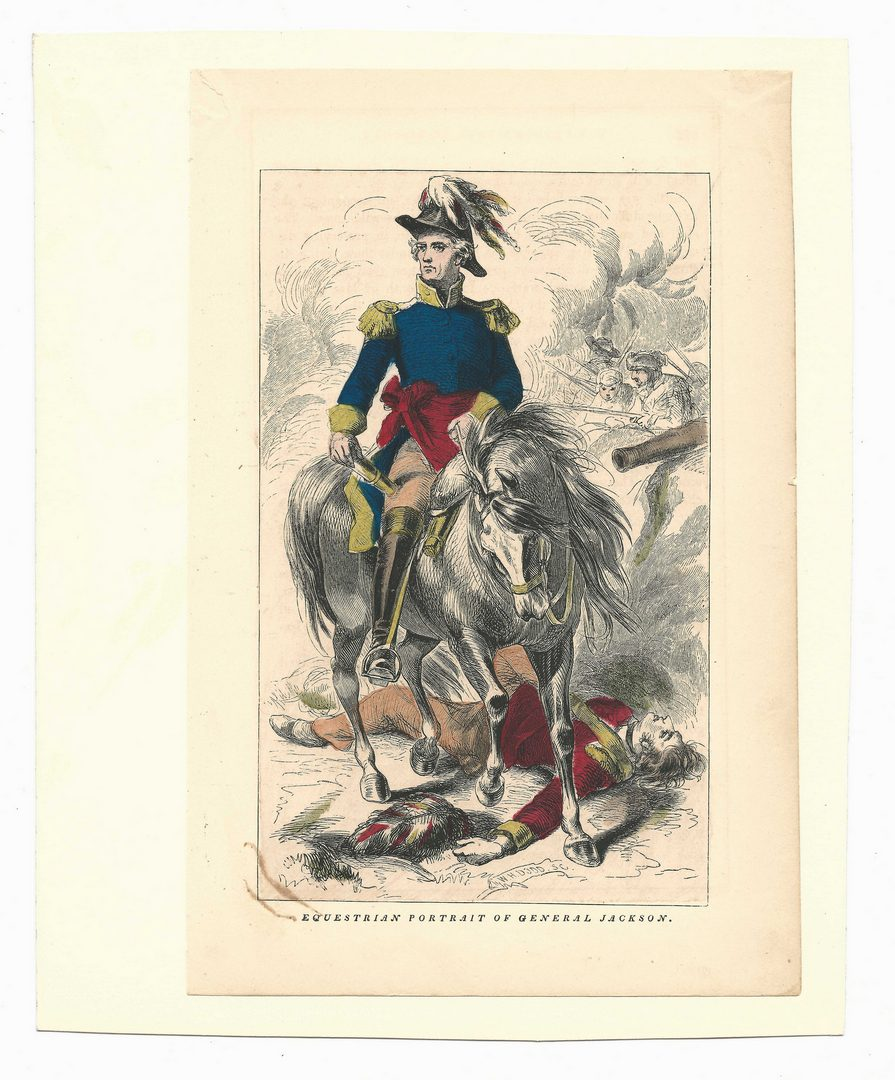 Lot 428: Andrew Jackson and Creek War, 3 items