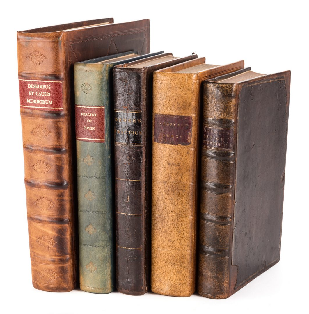 Lot 447: 5 Medical Books, inc. Women and Children's Health