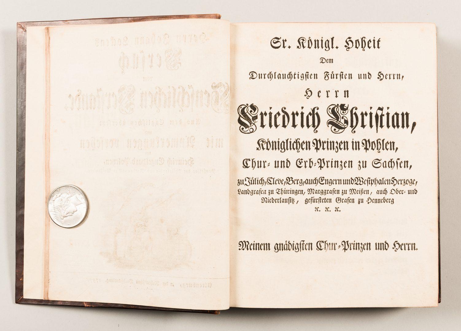 Lot 449: Versuch vom menschlichen Verstande 1757, John Locke
