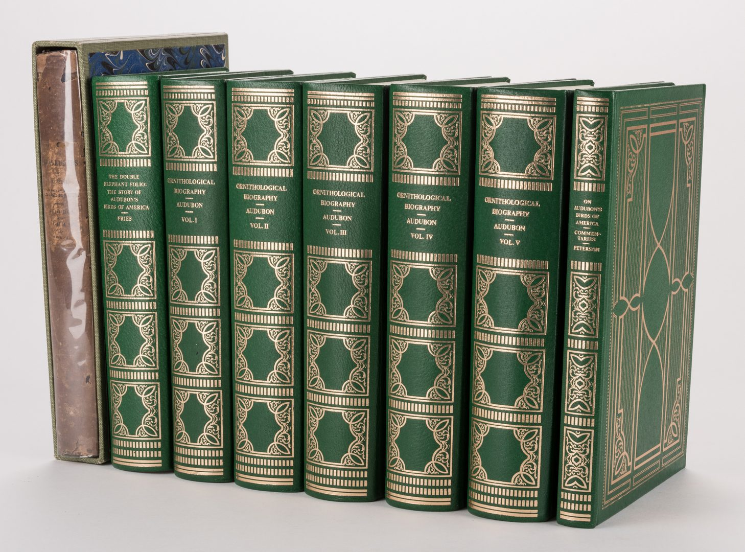Lot 454: 8 Audubon Books inc. 1846 Quadrupeds Text Vol. 1