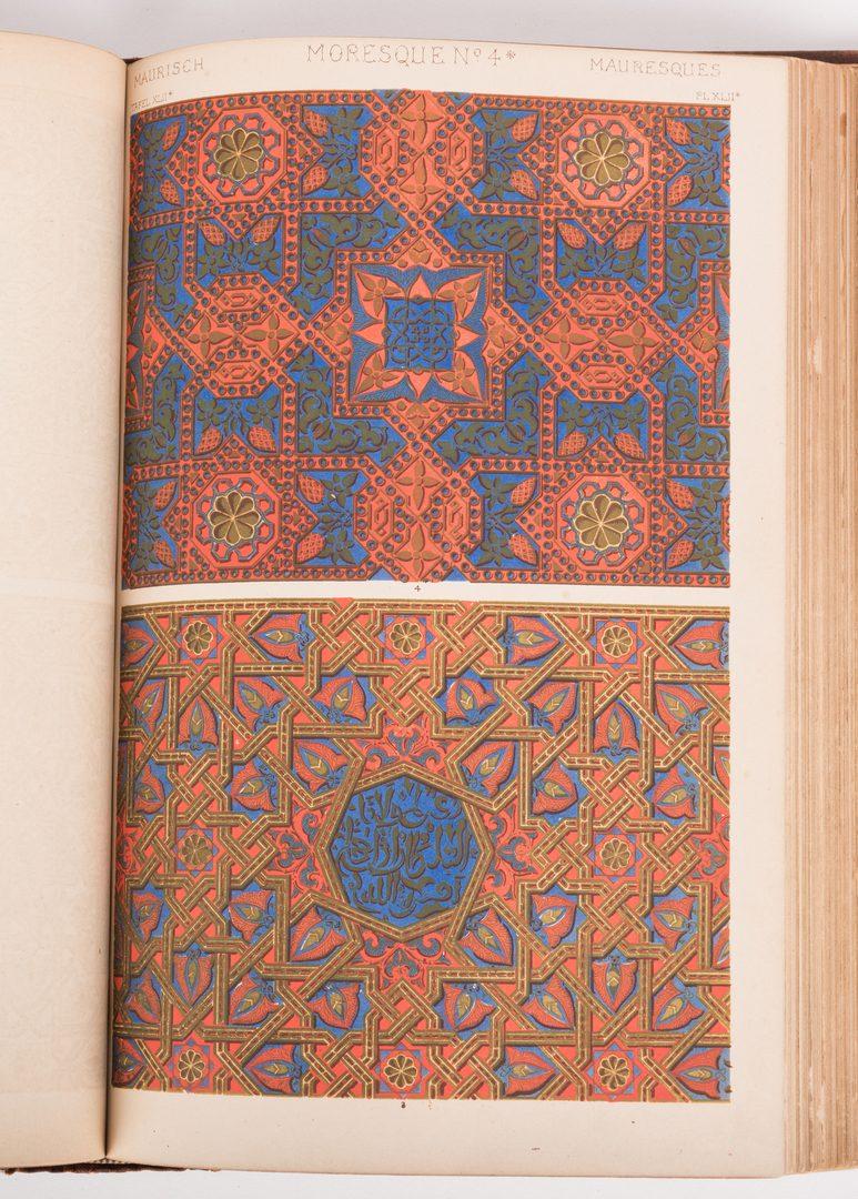 Lot 461: Grammar of Ornament, Owen Jones, 1868