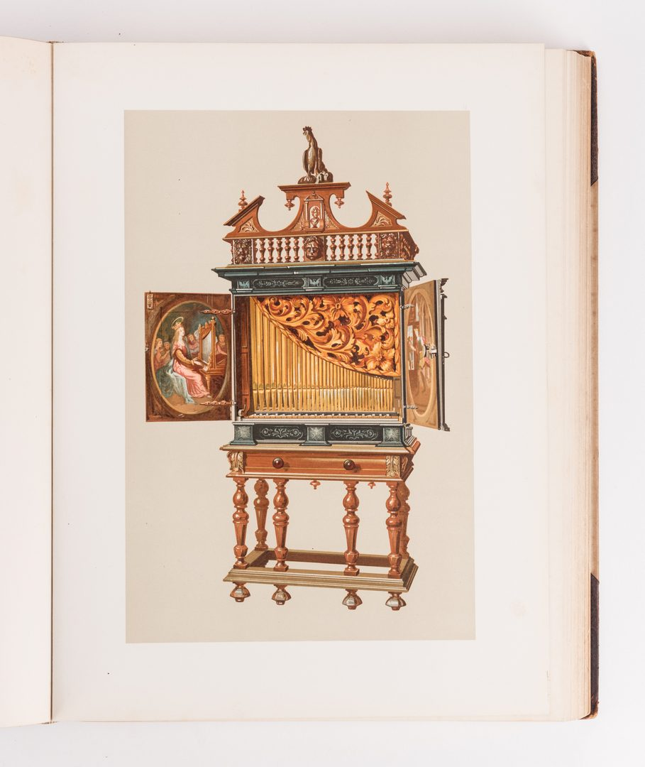 Lot 462: Musical Instruments, A. J. Hipkins, 1888